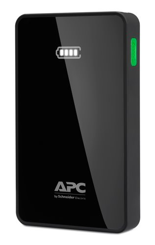 APC Mobile Power Pack, 5000mAh Li-polymer, čierna ( EMEA/CIS/MEA)