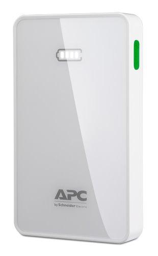 APC Mobile Power Pack, 5000mAh Li-polymer, Biela ( EMEA/CIS/MEA)