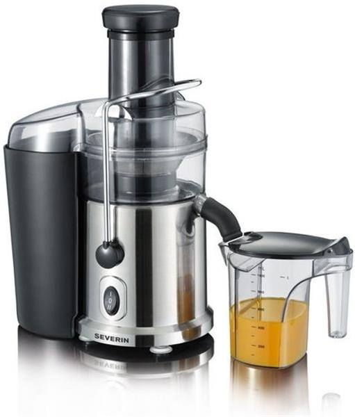 Severin Juice Extractor, approx. 700 W, juice container with foam separator approx. 1000 ml, odšťavovač