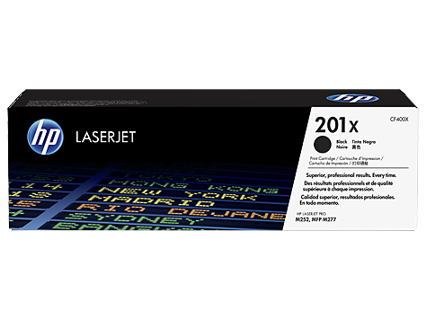 CF400X Čierna tonerová kazeta HP201X LaserJet /cca 2800str/