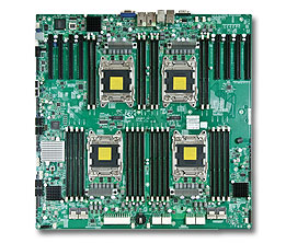 Supermicro Motherboard Xeon X9QR7TF+ Quad socket R (LGA 2011)