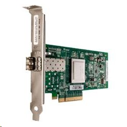 QLOGIC 8Gb Single Port FC HBA, x8 PCIe, LC multi-mode optic