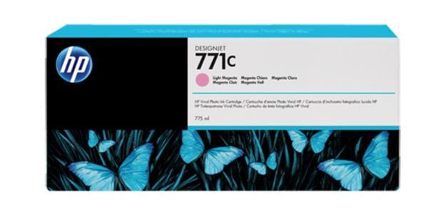 B6Y10A Svetlopurpurová atramentová kazeta HP 771C Designjet, 775 ml