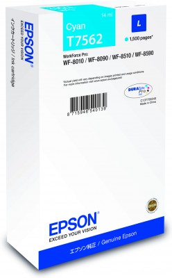 Epson atrament WF8000 series cyan L - 14ml