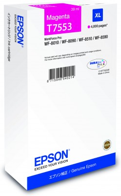 Epson atrament WF8000 series magenta XL - 39ml