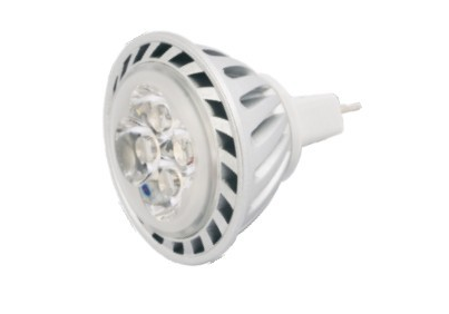 CNS-E LED žiarovka GU5.3 bodová 4x1W, 4W, 320 lm, 12V, biela