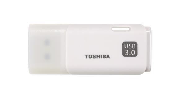 16 GB . USB 3.0 kľúč . TOSHIBA - TransMemory biely