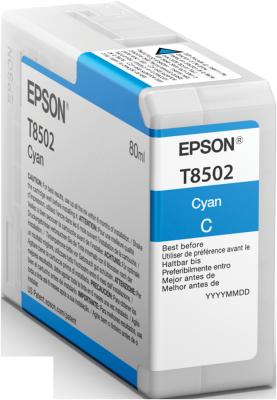 Epson atrament SC-P800 cyan 80ml
