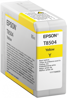 Epson atrament SC-P800 yellow 80ml