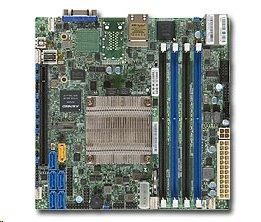 Supermicro X10SDV-F Intel® Xeon® processor D-1540 2x GbE LAN,IPMI