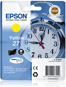 Epson atrament WF-7000 seria/WF-3620 yellow L - 300str.