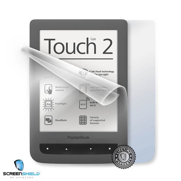 ScreenShield PocketBook 626 Touch Lux 2 - Film for display + body protection