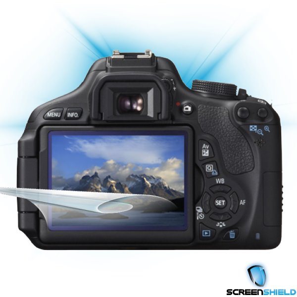ScreenShield Canon EOS 600D - Film for display protection