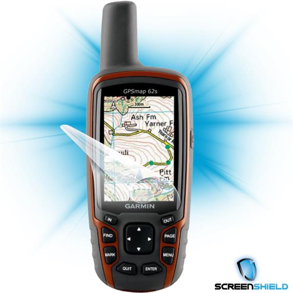 ScreenShield Garmin 62S - Film for display protection