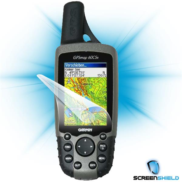 ScreenShield Garmin 60csx - Film for display protection