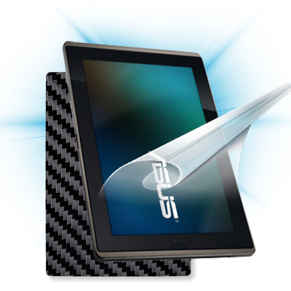 ScreenShield Asus EEE Pad Transformer - Films on display and carbon skin (black)