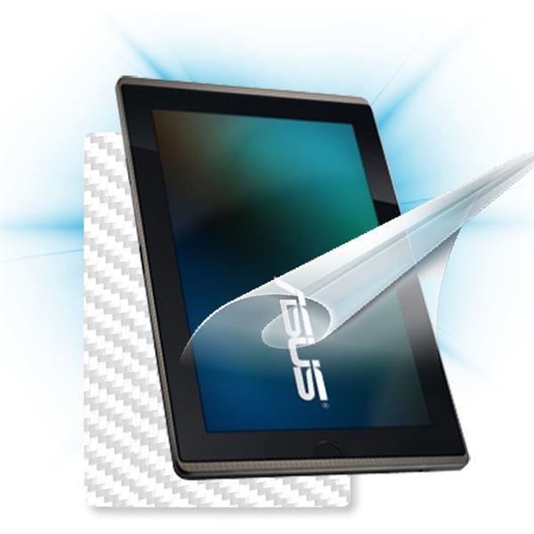 ScreenShield Asus EEE Pad Transformer - Films on display and carbon skin (white)