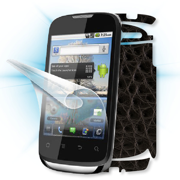 ScreenShield Huawei Sonic - Films on display and carbon skin (leather)