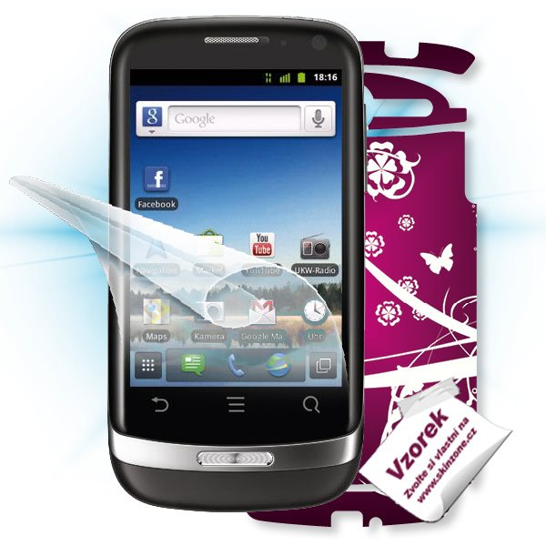 ScreenShield Huawei Ideos X3 - Film for display protection and voucher for decorative skin (including shipping fee to en