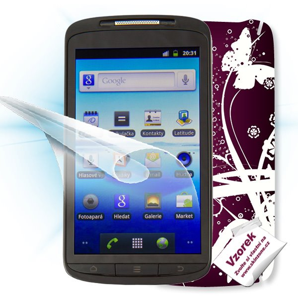 ScreenShield ZTE Skate - Film for display protection and voucher for decorative skin (including shipping fee to end cust