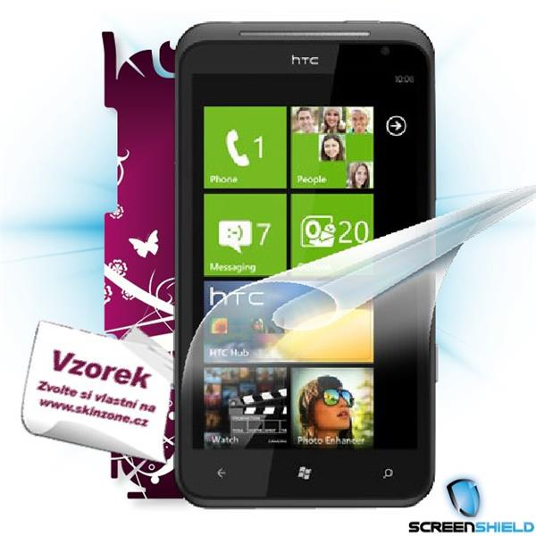 ScreenShield HTC Titan - Film for display protection and voucher for decorative skin (including shipping fee to end cust