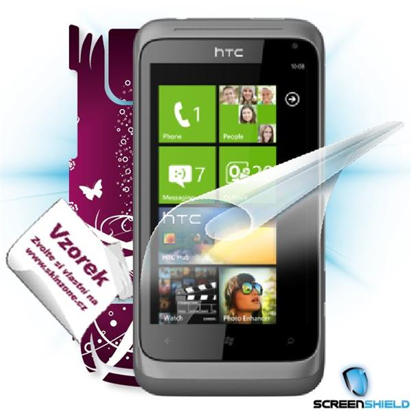ScreenShield HTC Radar - Film for display protection and voucher for decorative skin (including shipping fee to end cust