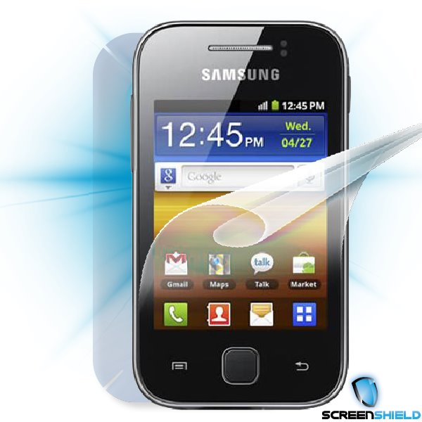 ScreenShield Galaxy Y S5360 - Film for display + body protection
