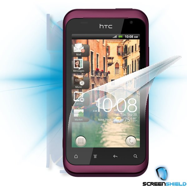 ScreenShield HTC Rhyme - Film for display + body protection