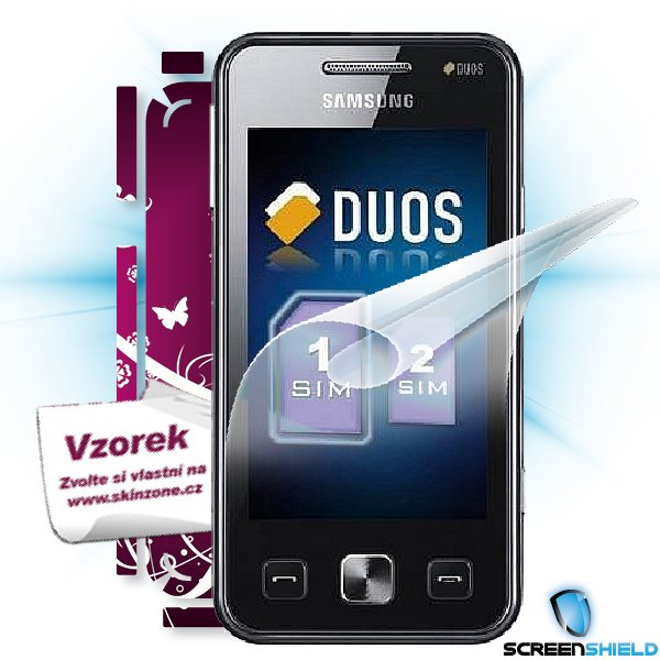 ScreenShield Star II Duos - Film for display protection and voucher for decorative skin (including shipping fee to end c