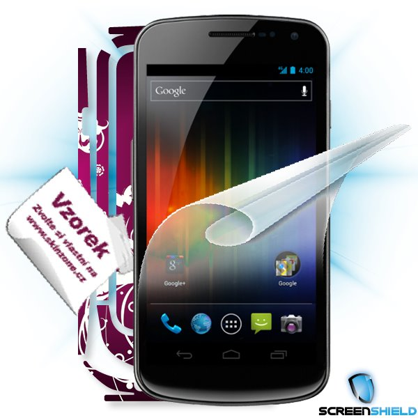 ScreenShield Galaxy Nexus - Film for display protection and voucher for decorative skin (including shipping fee to end c