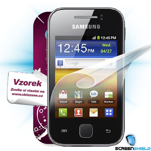 ScreenShield Galaxy Y S5360 - Film for display protection and voucher for decorative skin (including shipping fee to end