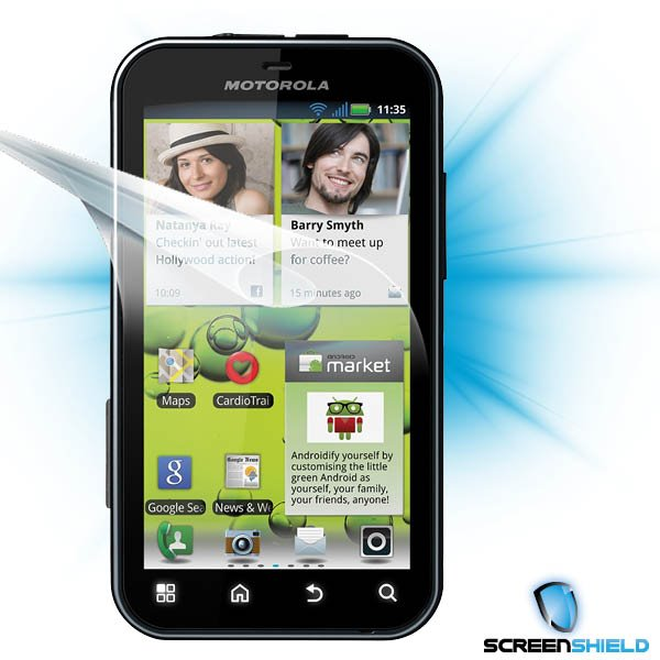 ScreenShield Motorola Defy+ - Film for display protection