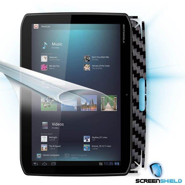 ScreenShield Motorola XOOM MZ601 - Films on display and carbon skin (black)