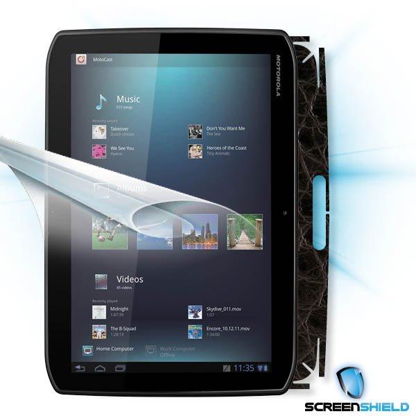 ScreenShield Motorola XOOM MZ601 - Films on display and carbon skin (leather)