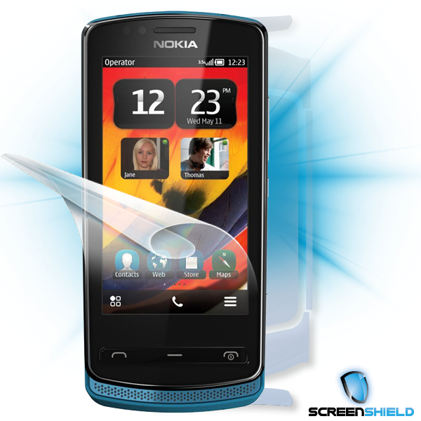 ScreenShield Nokia 700 - Film for display + body protection