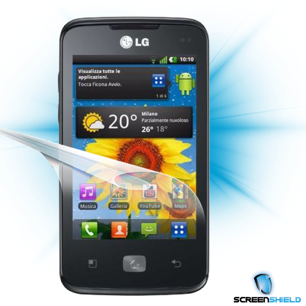 ScreenShield LG Optimus HUB E510 - Film for display protection