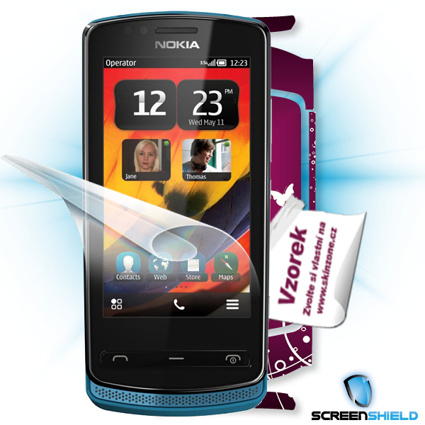 ScreenShield Nokia 700 - Film for display protection and voucher for decorative skin (including shipping fee to end cust