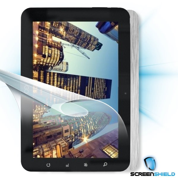 ScreenShield GoClever Tab R93 - Films on display and carbon skin (silver)