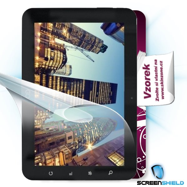 ScreenShield GoClever Tab R93 - Film for display protection and voucher for decorative skin (including shipping fee to e