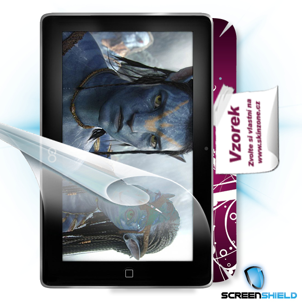 ScreenShield GoClever Tab R73 - Film for display protection and voucher for decorative skin (including shipping fee to e