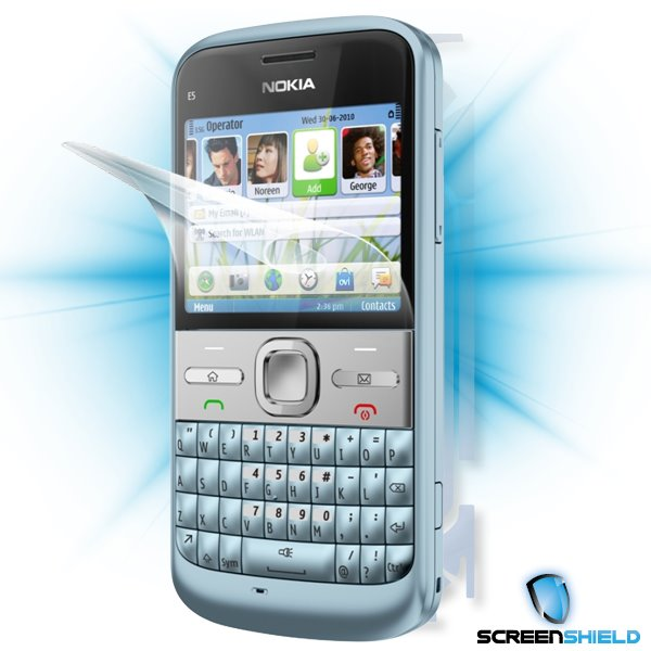 ScreenShield Nokia E5-00 - Film for display + body protection