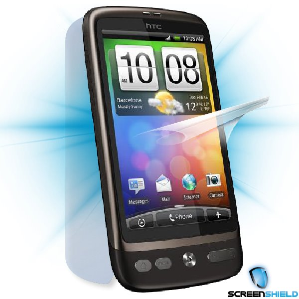 ScreenShield HTC Desire - Film for display + body protection