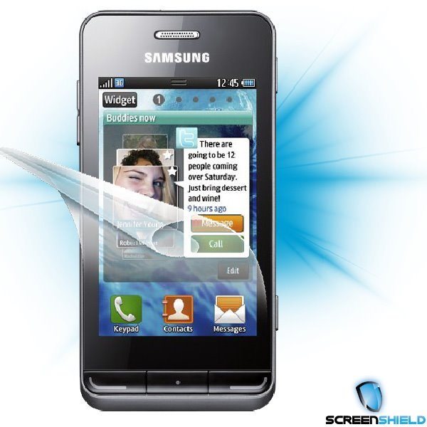 ScreenShield Samsung Wave 723 - Film for display protection