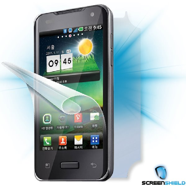 ScreenShield LG Optimus 2X (P990) - Film for display + body protection