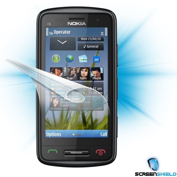 ScreenShield Nokia C6-00 - Film for display protection
