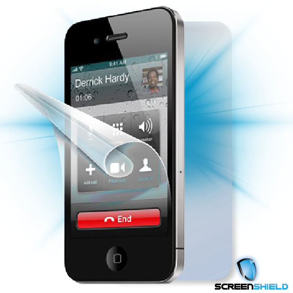 ScreenShield iPhone 4 - Film for display + body protection