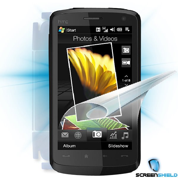 ScreenShield HTC Desire HD - Film for display + body protection