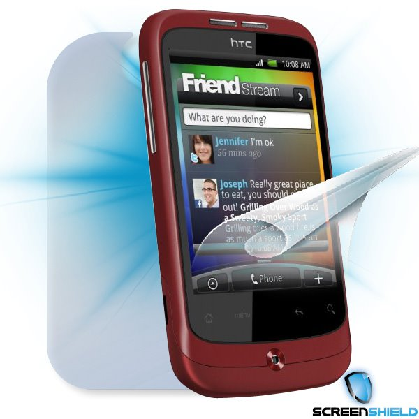 ScreenShield HTC Wildfire - Film for display + body protection