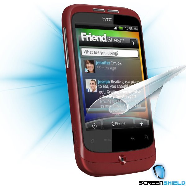 ScreenShield HTC Wildfire - Film for display protection