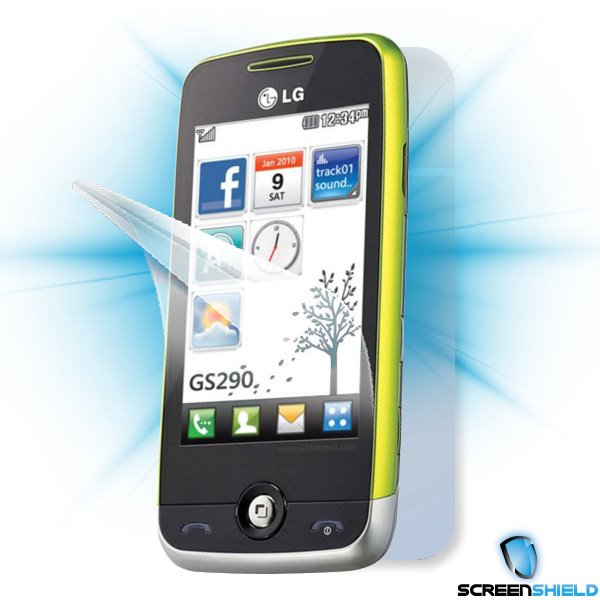 ScreenShield LG GS290 - Film for display + body protection
